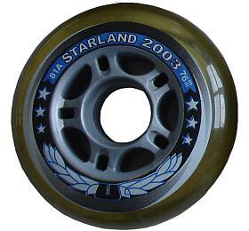 ACRA CS05/2 SKATE Náhradní kolečka dokolečkových bruslí 76x 24mm