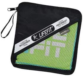 LIFEFIT rychleschnoucí ručník z mikrovlákna 35x70cm, zelený