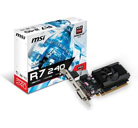 MSI R7 240 1GD3 64b LP