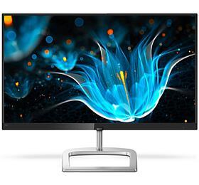 """Philips LCD 246E9QDSB 23,8"""" IPS FreeSync/1920x1080/20M:1/5ms/250cd/VGA/DVI/HDMI/bezrámečkový design"""