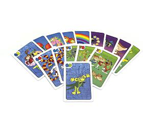 Kvarteto Pojď snámi dopohádky společenská hra -karty vpapírové krabičce 6x9x1,5cm