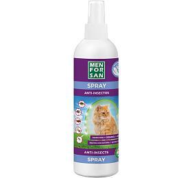 Menforsan antiparazitný sprej proti blechám a klíšťatům pro kočky z margózy 250ml