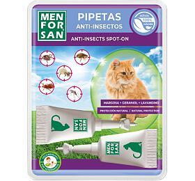 Menforsan antiparazitní pipety pro kočky 2x 1,5ml