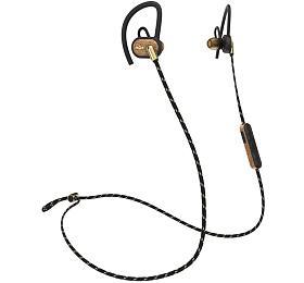 MARLEY Uprise -Brass, sportovní sluchátka douší sovladačem amikrofonem, Bluetooth