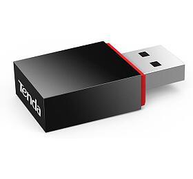 Tenda U3WiFi NUSB Adapter, 300 Mb/s, 802.11 b/g/n, režimy Client/Soft AP, OSWin,Mac,Linux,Raspb