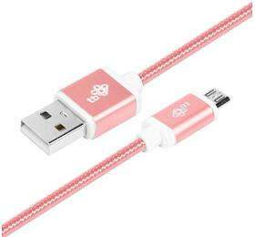 TB Touch USB - MicroUSB, 1,5m, rose gold