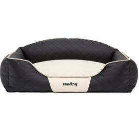 Reedog Black & Beige Sofa - XXL