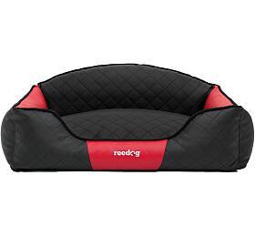 Reedog Black & Red Sofa - XXL