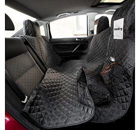 Reedog ochranný potah do auta pro psy na zip - černý - L