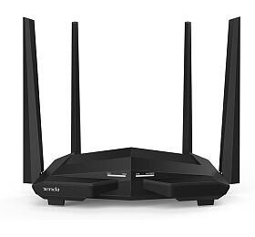 Tenda AC10U WiFi ACRouter 1200Mb/s, 1xUSB, 1xGWAN, 3xGLAN, VPN, WISP, Universal Repeater, 4x5dBi