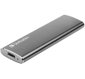 Verbatim USB 3.1 Gen 2Solid State Drive 120GB externí, šedý