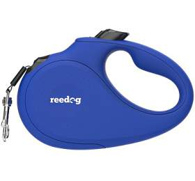Reedog Senza Basic samonavíjecí vodítko M 25kg / 5m páska / modré