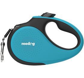 Reedog Senza Premium samonavíjecí vodítko S15kg /5m páska /tyrkysové
