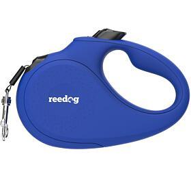 Reedog Senza Basic samonavíjecí vodítko L50kg /5m páska /modré