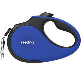 Reedog Senza Premium samonavíjecí vodítko M25kg /5m páska /modré