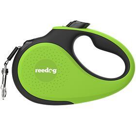 Reedog Senza Premium samonavíjecí vodítko M25kg /5m páska /zelené