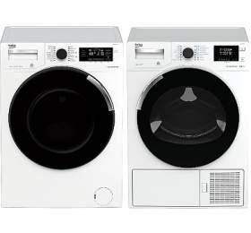 Beko WTV 8744 CSXW0 + Sušička prádla Beko DH 8544 CSRX