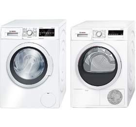SET Pračka Bosch WAT24460BY + Sušička Bosch WTH85200BY kondenzační