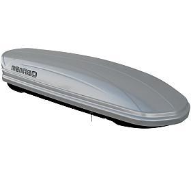 Střešní box Mania 460 ABS stříbrný, MENABO