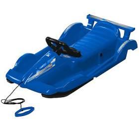 Bob plastový AlpenRace s volantem AlpenGaudi, modrý