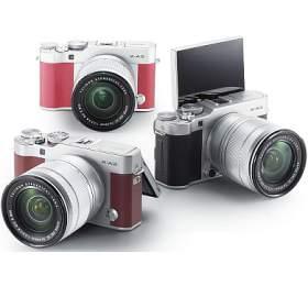 Fujifilm X-A3 + XC16-50 - Silver/Pink