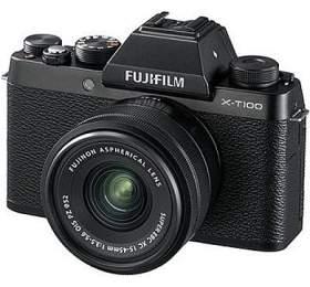 Fujifilm X-T100 + XC15-45 - 24,3MP - Black