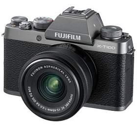 Fujifilm X-T100 + XC15-45 - 24,3MP - Dark Silver