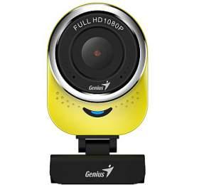GENIUS webová kamera QCam 6000/ žlutá/ Full HD1080P/ USB2.0/ mikrofon