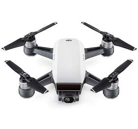 DJI kvadrokoptéra -dron, sada svysílačem, Spark, Full HDkamera, bílý
