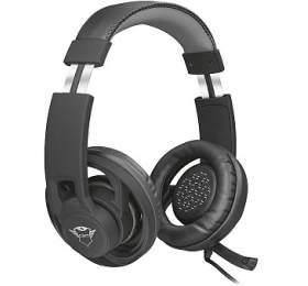 Trust GXT 333 Goiya headset /herní /náhlavní /drátový /mikrofon /40mm měniče /3,5 mmjack /černý