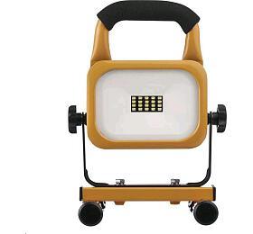 LED reflektor AKU nabíjecí přenosný, 10W studená bílá