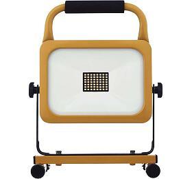 LED reflektor AKU nabíjecí přenosný, 30W studená bílá