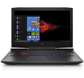 HP Omen 17-an106nc FHD i5-8300H/8B/1TB+256SSD/NV/2RSErvis/W10-black