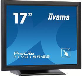 iiyama T1731SR-B5 - TN,SXGA,5ms,250cd/m2, 1000:1,5:4,VGA,HDMI,DP,USB,repro.