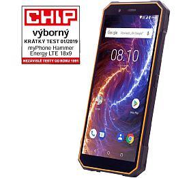 myPhone Hammer Energy 18x9 LTE oranžovo-černý
