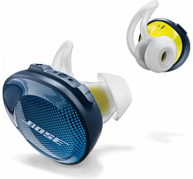 BOSE SoundSport Free - modrá