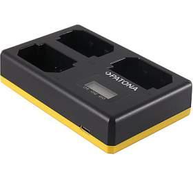 PATONA nabíječka Foto Triple Sony NP-FZ100 +LCD