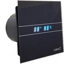 CATA e100 GBTH sklo hygro časovač černý