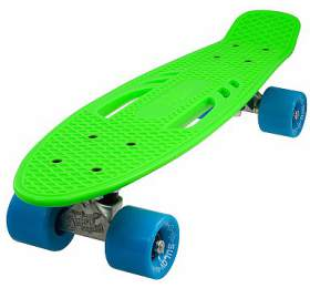 "Penny board 22"" CITY zeleno-modrý Sulov"