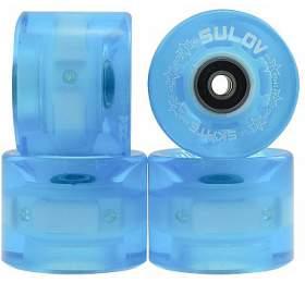 Kolečka Penny board BLUE TRANSPARENT LIGHT 60 x 45mm 85A Sulov