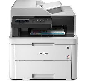 Brother MFC-L3730CDN, A4,18 str/18 str.,ADF,LED tiskárna,kopírka,skener,fax,síť,duplex