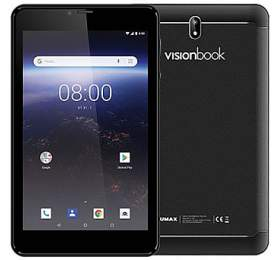 "UMAX tablet PC VisionBook 7Qa 3G/ 7"" IPS/ 600x1024/ 1GB/ 8GB Flash/ GPS/ micro USB/ Android 8.1 Oreo/ černý"