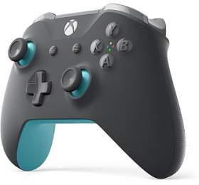 XBOX ONE - Bezdrátový ovladač Xbox One, šedá/modrá