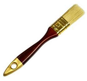 Štětec plochý, 25mm, dřevěná rukojeť GEKO