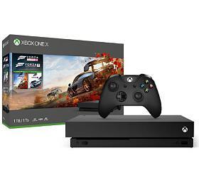XBOX ONE X 1 TB + Forza Horizon 4 - NOVINKA 2.10.2018