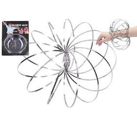 Magic ring kovová spirála pružina průměr 13cm nakartě 16x24cm