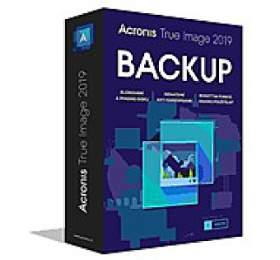 Acronis True Image 2019 - 1 Computer, CZ BOX