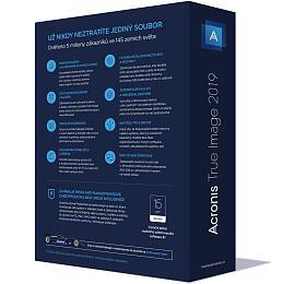 Acronis True Image 2019 - 5 Computers, CZ BOX