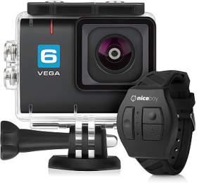 Akční kamera Niceboy® VEGA 6+ dálkové ovládání