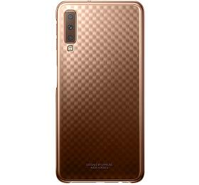Samsung Gradation kryt pro Galaxy A72018 Gold